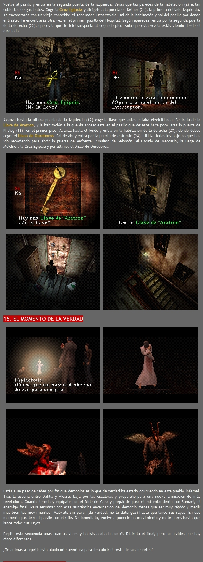 finales silent hill