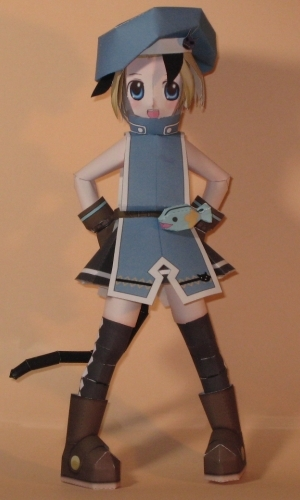 Papercrafts Anime
