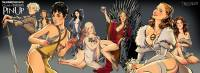 Las mujeres de Game Of Thrones al estilo Pin Up  #GameOfThrones #Got #Series #Imagen #Arte   https://www.facebook.com/media/set/...