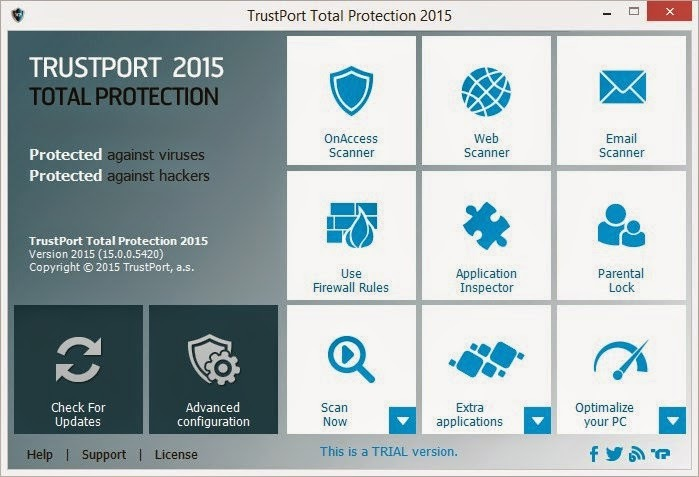 TrustPort Total Protection 2015 [1 Año]