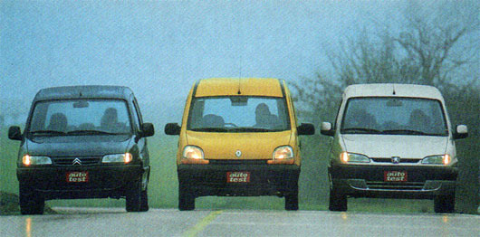 Berlingo Multispace vs Renault Kangoo vs Peugeot Partner