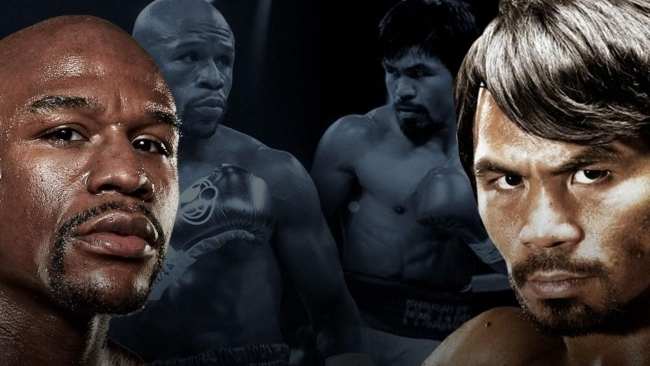Mayweather - Pacquiao En Numeros