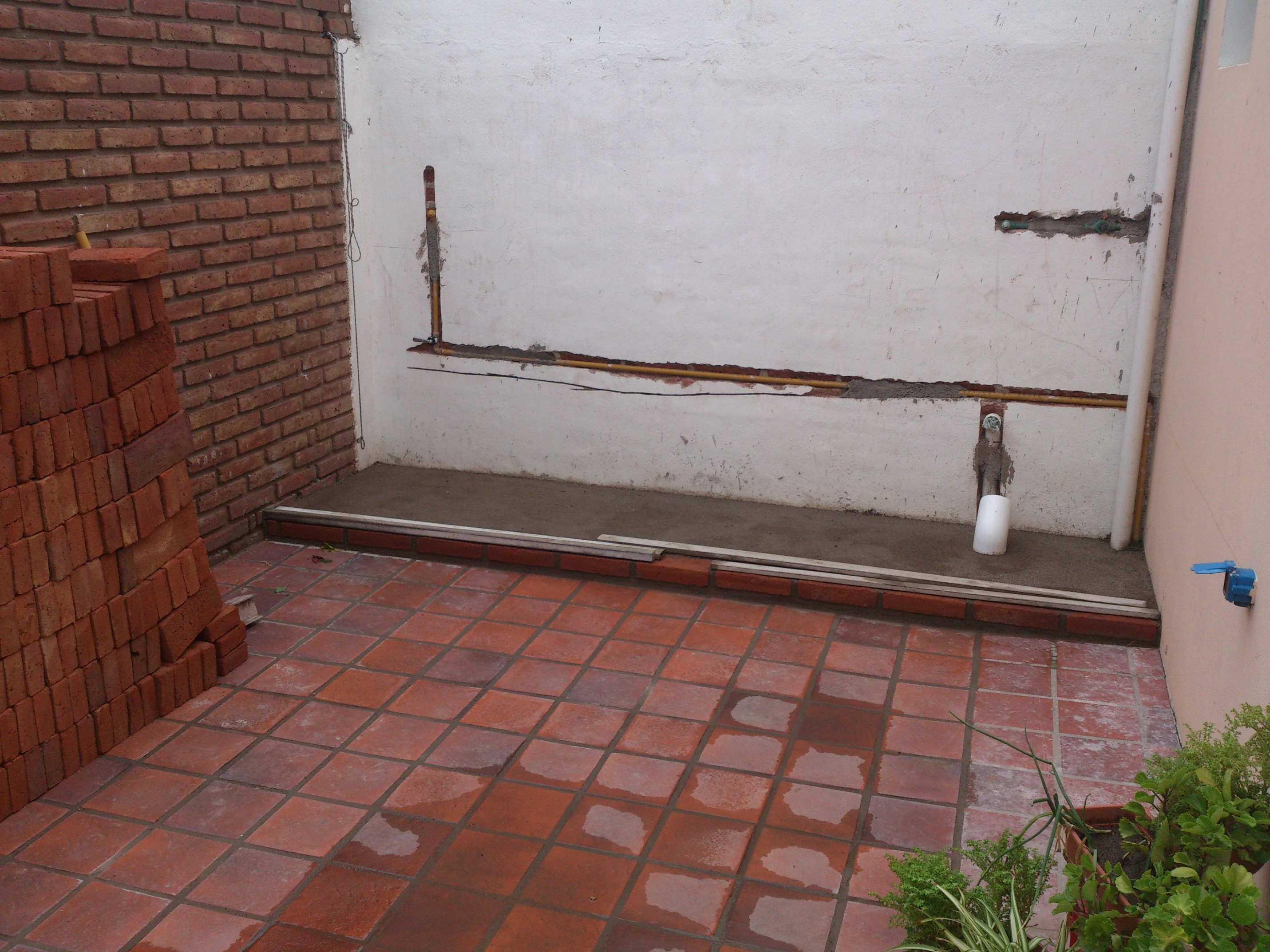 Armado de mini quincho en el patio de mi casa taringa for Como decorar el patio de mi casa