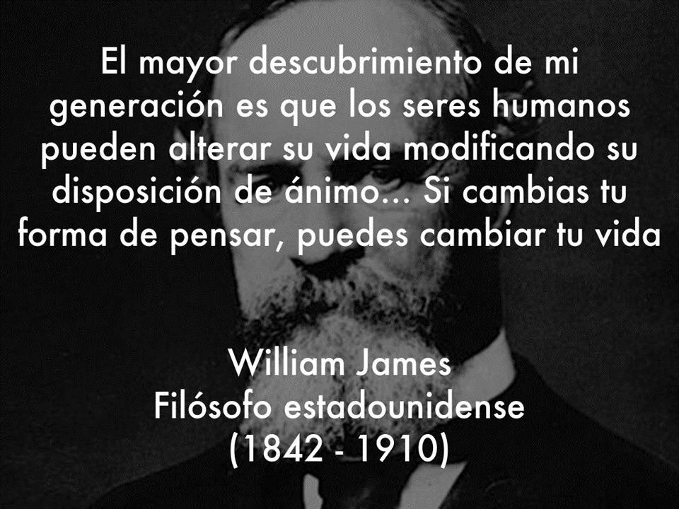 Frases Psicológicas De William James Que Te Harán Más S