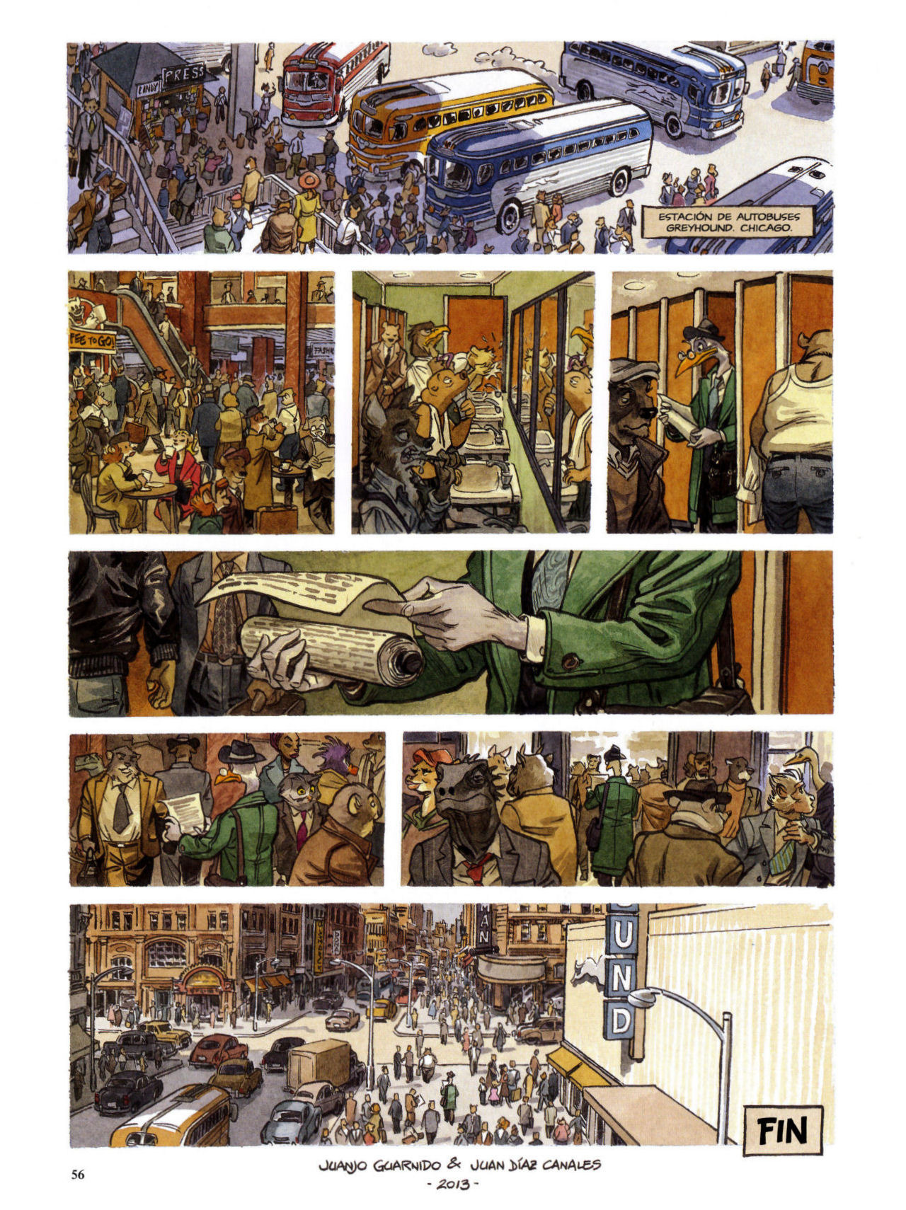 Blacksad Vol 5: Amarillo (2/2)