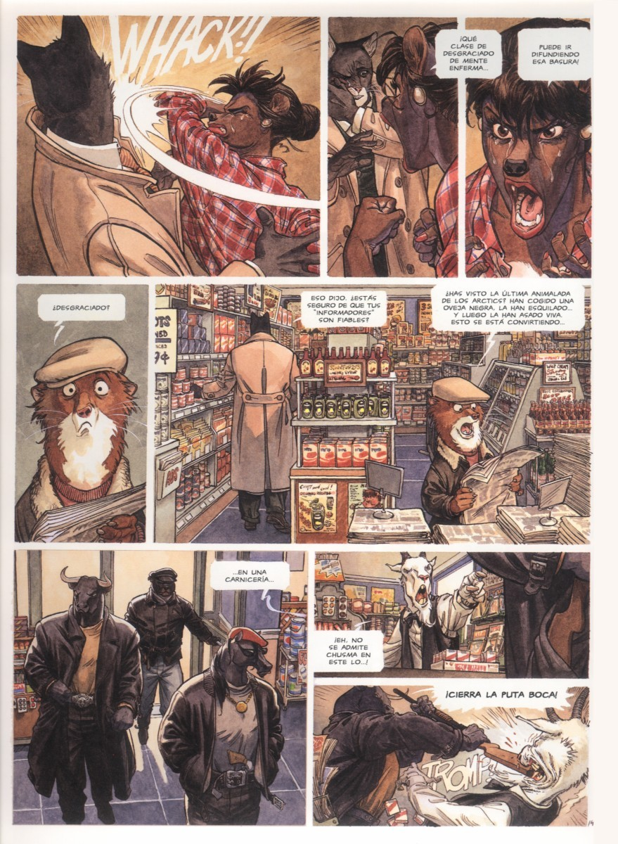 Blacksad Vol 2: Arctic-Nation (noir)