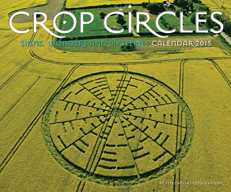 "Divisan ""luces brillantes"" y apareció un Crop Circle"