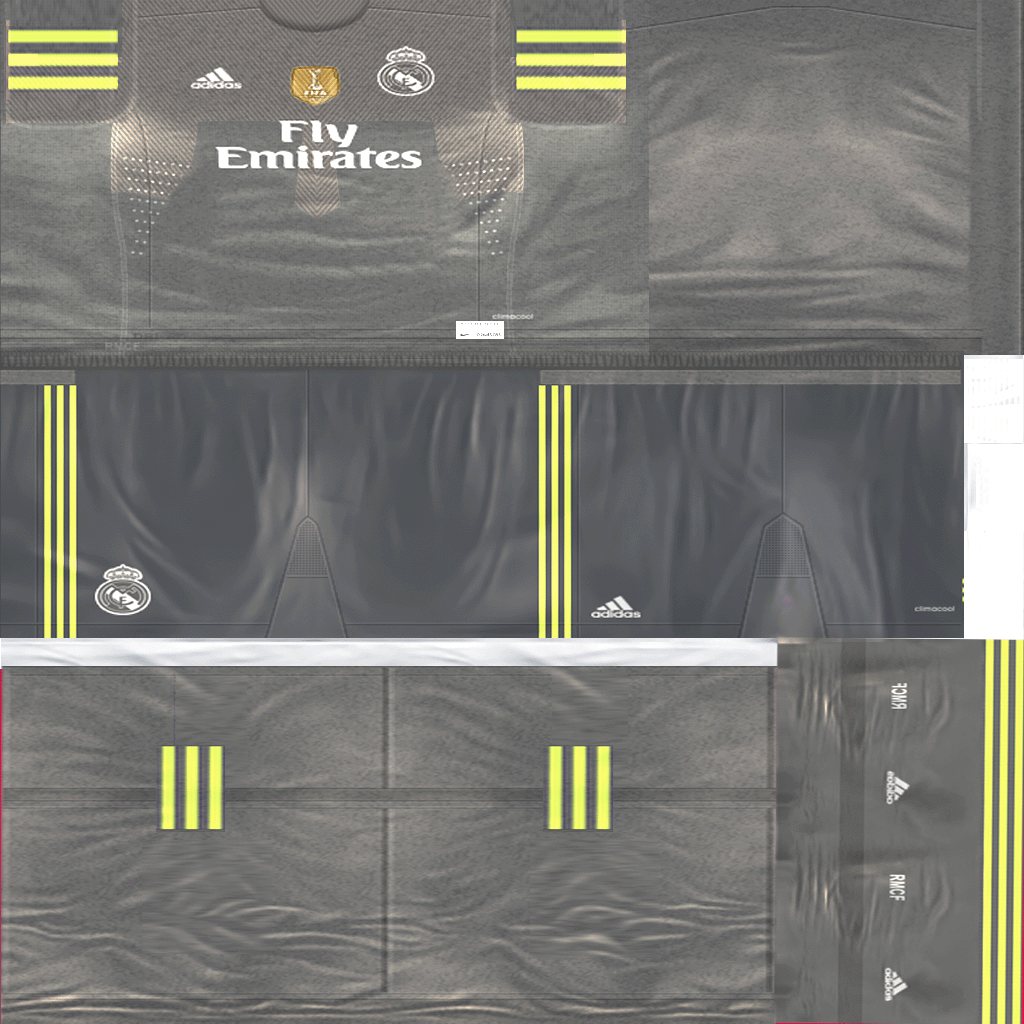Kit Real Madrid Para Pes 2019: 2015-16 - Pro Evolution Soccer 6