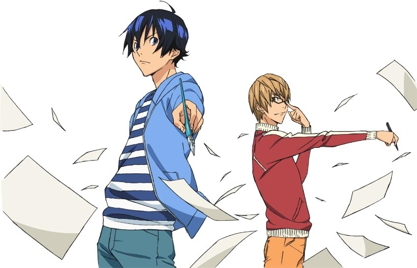 ?Noticias Anime: Live-action de Bakuman?