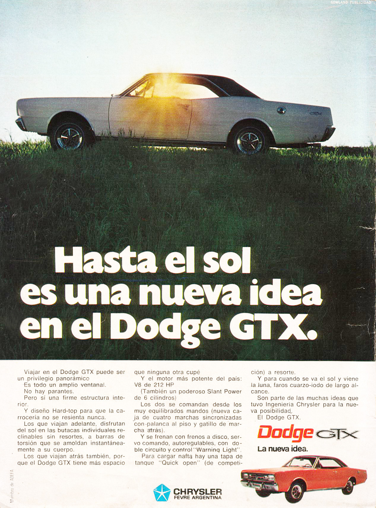 La nueva idea, Dodge GTX